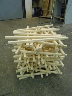 Fichte - Uni für Angewandte Kunst Projekt /Holztechnologie