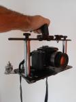 Kamera Käfig mit Ausgleichsgewichten